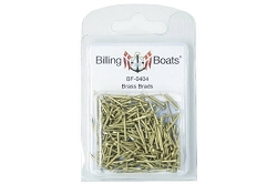Billing Boats Brass Nails 15mm 250 Pack