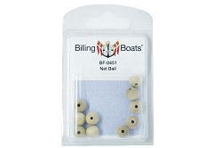 Billing Boats Wooden Net Ball 10mm 10 Pack
