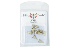 Billing Boats Megaphone 12mm 10 Pack