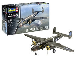 Revell of Germany B-25D Mitchell 1:48 Scale