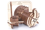 Ugears - Combination Lock - Laser Cut Wood - 34 Parts