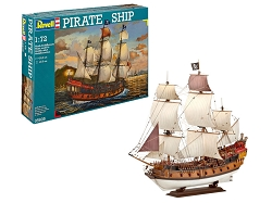 Revell of Germany Pirate Ship 1:72 Scale