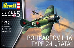Revell of Germany Polikarpov I-16 Type 24