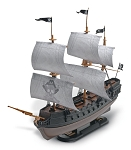 Revell of Germany The Black Diamond Pirate Ship Snap Tite 1:350 Scale