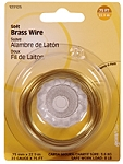 BRASS WIRE - 22 GAUGE - 75 FT. SPOOL