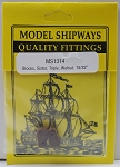Model Shipways SISTER Triple Sheave Block, Walnut 15/32