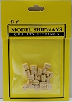 Model Shipways Triple Sheave Block, Boxwood 9/32