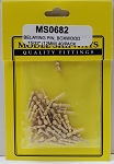 Model Shipways Belaying Pins, Boxwood 15/32