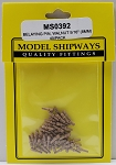 Model Shipways Belaying Pins, Walnut 5/16