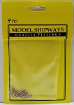Model Shipways Belaying Pins,Brass 5/16