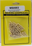 Model Shipways Belaying Pins, Boxwood 9/16