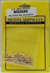 Model Shipways Belaying Pins, Boxwood 5/16