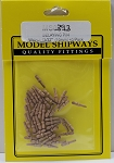 Model Shipways Belaying Pins, Walnut 13/32