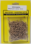 Model Shipways Belaying Pins, Walnut, 15/32