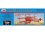 GUILLOWS Fokker Triplane Laser Cut 20
