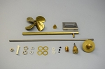 Dumas #2375 RUNNING HARDWARE KIT FOR #1268 JENNY LEE TUG