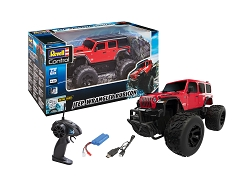 Revell of Germany Jeep Wrangler Rubicon RC Car 1:18 Scale