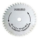 Proxxon 28731 Crosscut saw blade Super-Cut for FKS/E, FET & KGS 80, 80 teeth