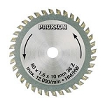 Proxxon 28732 Carbide tipped saw blade for FKS/E, FET & KGS 80, 36 teeth
