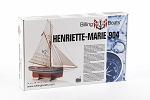 Billing Boats Henriette Marie Wooden Hull 1:50 Scale