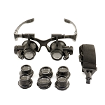 Enkay 2964 - Multi Powered Magnifying Eyewear - LED Lighted