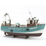 Billing Boats 1:20 Boulogne Etaples -Wooden hull