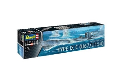 Revell of Germany German Submarine Type IX C U671/U 1/72 Scale
