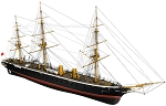 Billing Boats 1:100 Scale HMS Warrior -Wooden hull