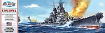 Atlantis Models USS Iowa Battleship 1/535 Scale