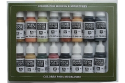 Vallejo Model Color WWII German Colors 16 Bottle Set