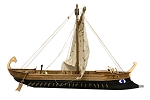 CCV Modelli - PENTERA CARTAGINESE - Wood Plank-on-Bulkhead Ship Model Kit - Length: 500mm (19.5
