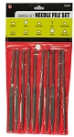 Needle File Set, Coarse Cut 10Pc. 7