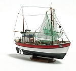 Billing Boats 1:60 Scale Rainbow - Plastic hull