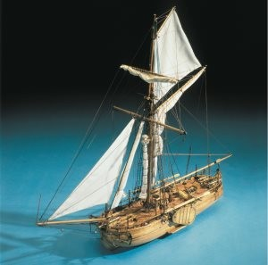 Mantua Model 797 Dutch Naval Gunboat Cannoniera Olandese 1:43
