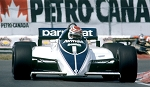 Tameo Kit CPK001 Brabham BT50 - 1982 Canadian Grand Prix - White Metal Car Kit - Scale 1:43, Made in Italy