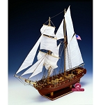 Constructo 80837 The Enterprise Schooner Laser Cut Wood & Metal Kit – Made in Spain - Scale 1:51