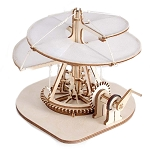 Da Vinci Aerial Screw (Vite Aerea) Riciclandia RIC_01 Laser Cut Wooden Model Kit - Made in Italy