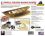 Model Shipways Lowell Grand Banks Dory with Tools 1:24 Scale Skill Level I of the Shipwright Learning Series.