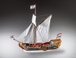 Dusek Dutch Statenjacht Wood Model Ship Kit D023 Scale 1:48
