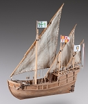 Dusek Nina Wood Model Ship Kit D012 Scale 1:72