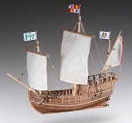 Dusek Pinta Wood Model Ship Kit D011 Scale 1:72