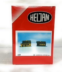 Heljan Weekend Homes -2 HO Scale