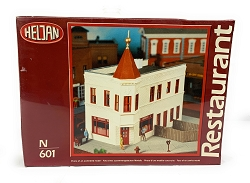 Heljan Two Brothers Restaurant N Scale