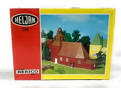 Heljan Swedish Church HO Scale