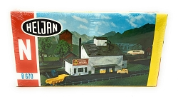 Heljan Grain Mill N Scale