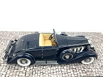 MINICHAMPS 1:43 Scale Hand Built Resin & Metal Duesenberg SJN (Supercharged) Convertible 1936 - Dark Blue - Ltd. 220 pcs.