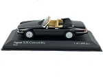 MINICHAMPS 1:43 Scale Die Cast Jaguar XJS Cabriolet 1988  - Black & Tan - Ltd. 1008 pcs.