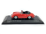MINICHAMPS 1:43 Die Cast Porsche 356 B Cabriolet 1960 Signal Red  Red - Ltd. 504 pcs.