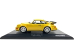 MINICHAMPS 1:18 Scale Die Cast Porsche 911 (964) Turbo 1990 Yellow - Ltd. 600 pcs.