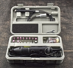 Rotary Tool with Flex Shaft & 40 Accessories